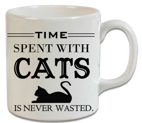Time Spent With Cats Is Never Wasted – Kedi Kupa