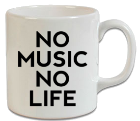No Music No Life Kupa