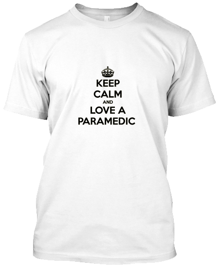Keep Calm Paramedic T-Shirt