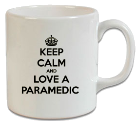 Keep Calm Paramedic Kupa