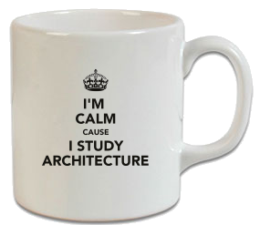 Keep Calm Architecture Mimar Kupa
