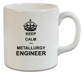 Keep Calm Metalurji Mühendisi Kupa