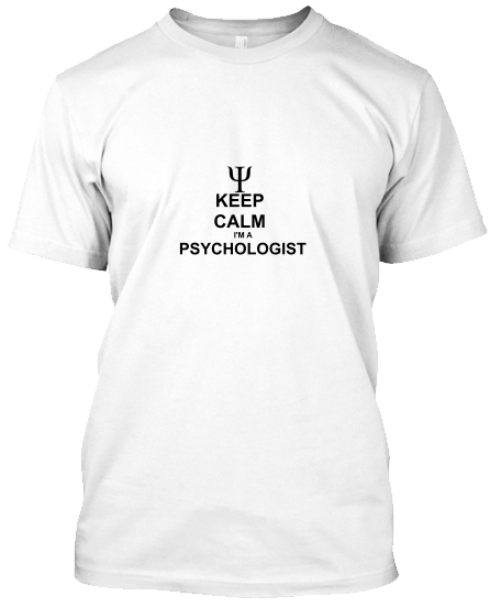 Keep Calm Psikolog T-Shirt