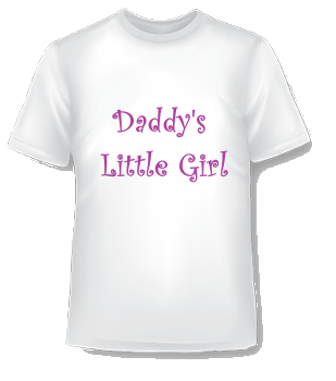 Daddy's Little Girl Çocuk TShirt