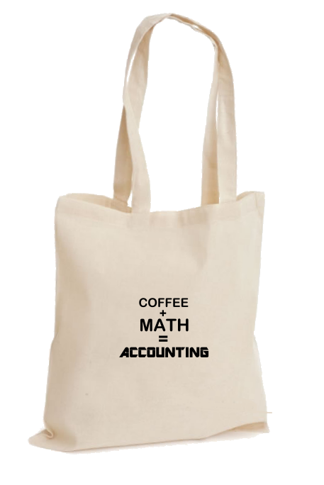 Coffee, Math, Accounting Çanta