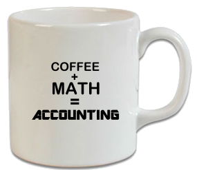 Coffee, Math, Accounting Kupa