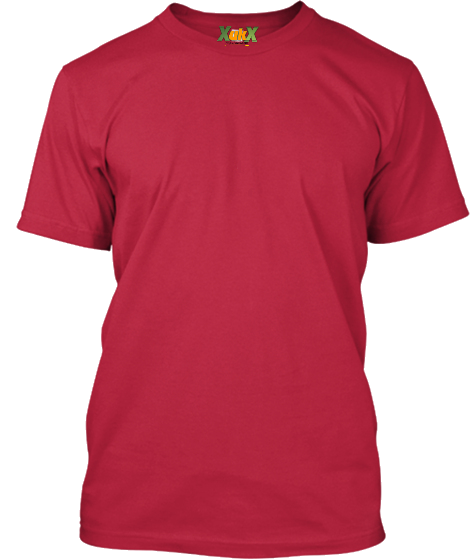 Bordo Basic Erkek T-Shirt