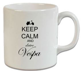 Keep Calm Vespa Kupa